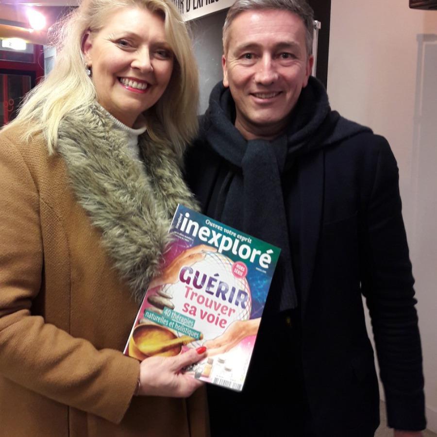 Isabelle GILLET ROME rencontre avec Stéphane ALLIX à RENNES en Janvier 2018