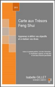 eBook Carte aux Trésors Feng Shui définir ses objectifs et réaliser ses rêves avec Isabelle GILLET