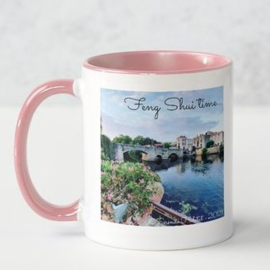 MUG SERENITE HABITAT Feng Shui time Clisson rose